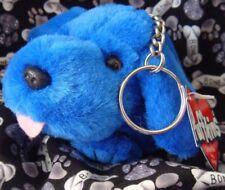 Swibco Puffkins Plush BUSTER Dog KEYRING 6748 DOB 9-13-2000 VHTF Bean Bag MWMT