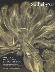 Sotheby's New York Catalogue History of Science & Technology 2018
