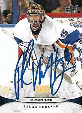 Al Montoya Signed Auto 2011 Upper Deck NY Islanders Card - COA - Canadiens - NHL