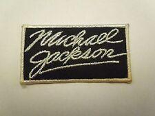 Vintage Michael Jackson Glitzer Name Aufbügelflicken