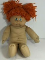 💚 VINTAGE CABBAGE PATCH KID CPK DOLL JESMAR #4 RED POODLE GREEN FRECKLES 1983RO