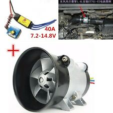 Y-type 5-wire 380W Car Electric Supercharger Turbo intake Fan Boost 12V 16.5A