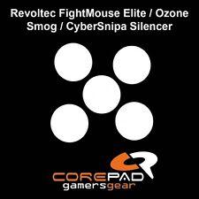 COREPAD Skatez Piedini del mouse Revoltec FightMouse Elite/Ozone Smog/cybersnipa SIL