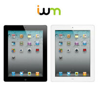 Apple iPad 2 16GB 32GB 64GB GSM Unlocked / Verizon / WiFi - Black / White