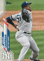 Aroldis Chapman 2020 Topps Series 1 #161 New York Yankees Baseball Card