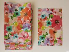 """15 Handmade Flat Paper Bags for Events Weddings Treats, Floral Pattern 6.5""""x9.5"""""""