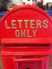 Cast Iron Edward VII Post Box Cast Iron ER Royal Mail Box