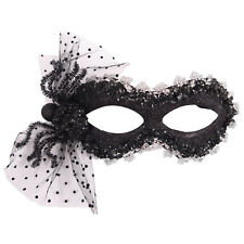 Christmas Halloween Party Masquerade Mask - Black & Silver U25103
