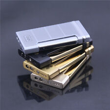 1PC Ultra-thin design creative side push fire up jet torch flame lighter TIGER