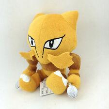 "Alakazam Psychic Pokemon Foodin Fox Stuffed Animal Plush Toy Abra Kadabra 6"""