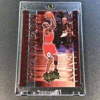 MICHAEL JORDAN 1999 UPPER DECK CENTURY #P5 PHENOMENON FOIL INSERT CARD BULLS MJ