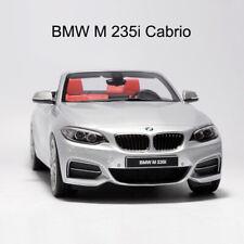 GTspirit BMW M 235I Cabrio M2 Convertible Silver 1:18 Resin Car Model Collection