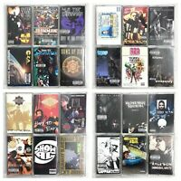 BUILD UR OWN Cassette Tape Lot - 80's 90's Hip-Hop & Rap - Rare Titles!!!