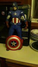 NECA Marvel Avengers Quarter Scale Captain America Action Figure Avengers Damage