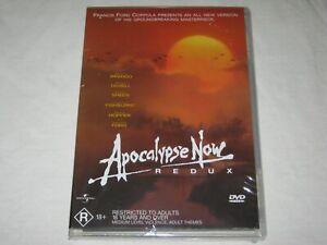 Apocalypse Now - Redux - Brand New & Sealed - Region 4 - DVD