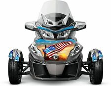 "Can Am Spyder RT RT-S RT Limited wrap decal kit HOOD/FENDERS ""Americana Desert"""