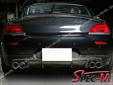 BUMPER DIFFUSER 3D STYLE CARBON FIBER FOR BMW E89 Z4 M-TECH M-SPORT