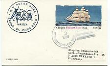 1988 RV Polar Duke Carino St. John's NFLD McMurdo Station Antarctic Cover SIGNED