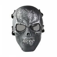 Skull Skeleton Airsoft Paintball Full Face Protect Mask HY