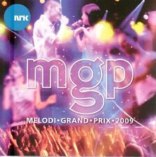 CD Melodi Grand Prix Norwegen MGP 2009  Eurovision, Tone Damli,Alexander Rybak