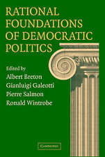 Rational Foundations of Democratic Politics-ExLibrary