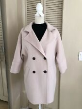 womens wool cashmere coat Size S Ivory