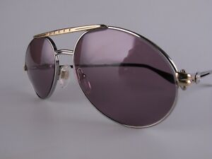 Vintage 80s Bugatti 02926 Eyeglasses Frames Size 54 Men's Medium Made in France