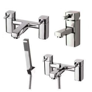 Luxury Square Hero Modern Bathroom Taps Basin Tap Bath Filler Bath Shower Mixer