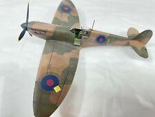 Eduard 1:48 Spitfire Mk1 built for display