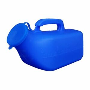 Large Capacity Men's Urinals 2000 Ml Non Spill Urine Cups Hospital Bed With Lid
