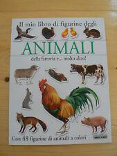 Il mio libro di figurine degli animali della fattoria - Baby Cart  Nuovo