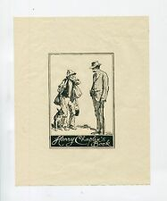 Ex Libris by Lionel Lindsay for Chaplin