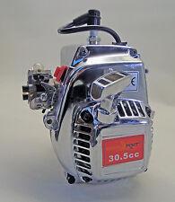 1/5 RC 30.5cc 4 Bolt Engine CHROME Walbro NGK fit Rovan HSP KM PRC FS