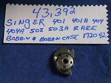 GENUINE SINGER 401 401A 403 403A 404 500 503 SEWING MACHINE BOBBIN CASE 172082