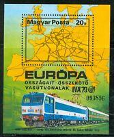 HUNGARY-1979.S/s - Intl.Transportation Exhibition/Train/Railroad  MNH! Mi Bl137
