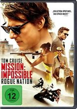 JEREMY RENNER TOM CRUISE - MISSION IMPOSSIBLE: ROGUE NATION  DVD NEU