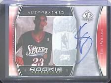 2005-06 Upper Deck SP Rookie Autograph #120 Louis Williams No 963 of 1299