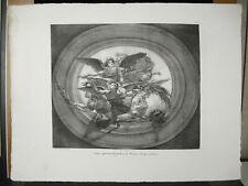 Anges apportant des palmes du Martyre à la légion Thébaine J B Vinchon c1830