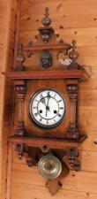 ANTIQUE GERMAN WALL CLOCK   FREE SWINGER