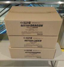 Fewture Getter Robot Dragon Liger & Poseidon Set of 3 MISB New Free Shipping