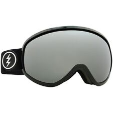 Electric Visual Mesher Negro Brillante Gafas de Snowboard ( Brose / Cromo Plata