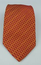 THOMAS PINK Pure Silk Neck Tie Red/Yellow MADE IN FRANCE – (B1001)
