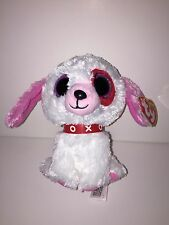Ty Darlin Love Dog Beanie Boos-New, Mint Tag-Retired-Cute & Adorable