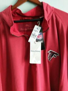 NWT Tommy Bahama Falcons 1/4 zip Pullover Sweater NFL Men's 5X