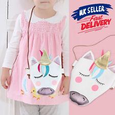 Kids Girls Messenger Gifts Unicorn Shoulder Bag Crossbody Purse Wallet Handbag