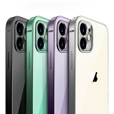 SHOCKPROOF plating clear Case For iPhone 11,Pro , Pro MAX XR,X,XS 7/8 PLUS Cover