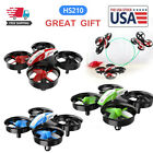 Holy Stone HS210 Mini RC Drone 2.4G 360° Flip Hover micro Quadcopter For Kids US