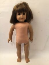 American Girl Doll Just Like You Brown Eyes Brown Hair Bangs 2008 Short Hair