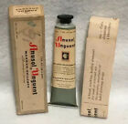 Vintage Anusol Unquent Ointment Tube With Box Warner - Chilcott Rare