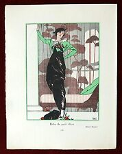 Gazette du Bon Ton Print Pochoir ~ February 1913 No 4 ~ Paul Meras
